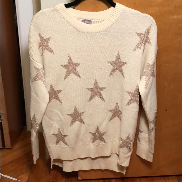 Forever 21 Sweaters - Star Print Chunky Sweater